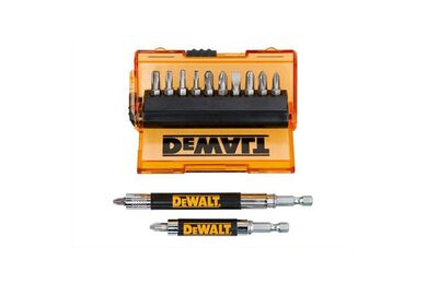 DEWALT DT71502-QZ Bitset 14-delig Met Schroefgeleider