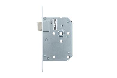 BUVA UNI Loopslot Met Afgeronde Sluitplaat Zilverkleurig L1-R4 50mm