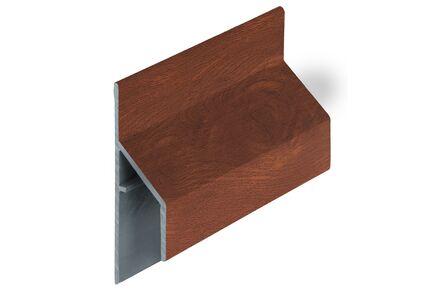 keralit aansluitprofiel 2810 trim/kraal classic golden oak 6000mm