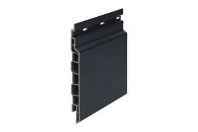 KERALIT 2814 Sponningdeel 143mm Zwartgrijs Classic Nerf 17x143x6000mm