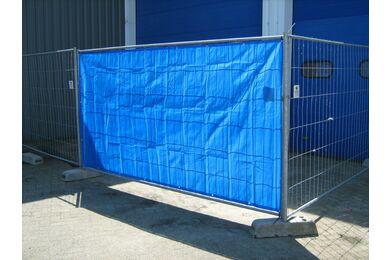 Bouwhekkleed Blauw 1760x3410mm