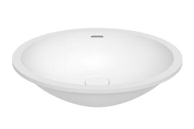Krion Solid Surface Spoelbak B416 E Snow White 450x350x188mm