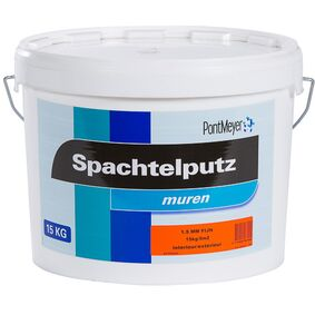 pm spachtelputz binnen/buiten fijn 1,5mm 15kg