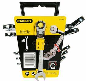 stanley ratel ringsteekset 4-91-444 6-delig
