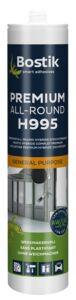 bostik h995 constructie- en montagelijm wit