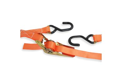 Sjorband 2 delig Ratelspanner S-haken max 500kg