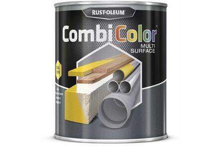 rustoleum combicolor zijdeglans multisurface staalgrijs ral7001 750ml