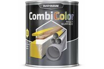 RUSTOLEUM Combi Color Multi Surface Mat Zwart 750ml