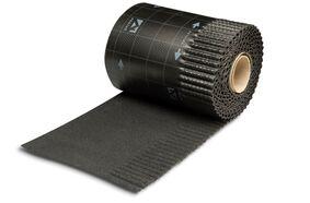 ubiflex ribbel waterdichte laag zwart rol 6m