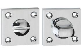 impresso paar rozet schroef modulair wc vierkant chroom
