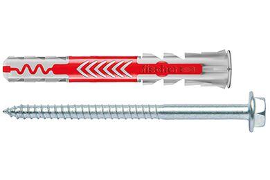 FISCHER Duopower Plug + Schroef 10x80mm