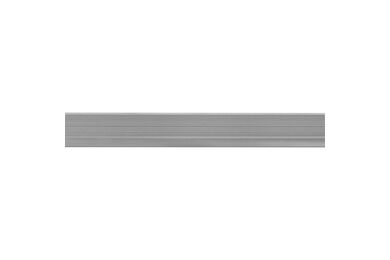 Traplijst Grijs Aluminium 6x30x2000mm
