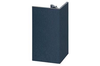 KERALIT 2812 Uitwendig Rechthoekprofiel Staalblauw Classic Nerf 46x46x4000mm