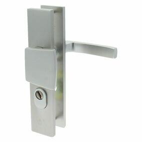starx deurbeslag kruk/duwer lang met kerntrek 72mm skg3