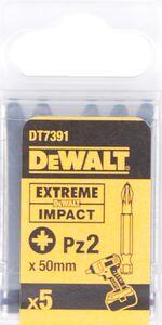 dewalt impact 50mm pz2 dt7391-qz (set van 5 stuks)