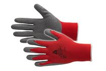 ARTELLI Handschoen Pro-fit Handschoen Soft single Latex Rood/Grijs 10