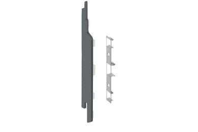 KERALIT 2860 Eindkap + Connector Links Voor 2814 Basaltgrijs Classic Nerf