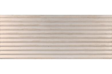 Fitwall Concrete Wandpaneel Wave Raw White 3290x1295x30mm