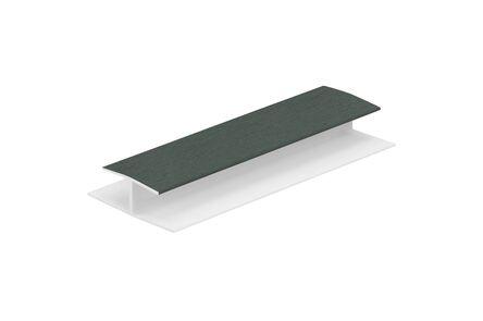 keralit H-verbindingprofiel 0420 classic donkergroen 6009 10x2600