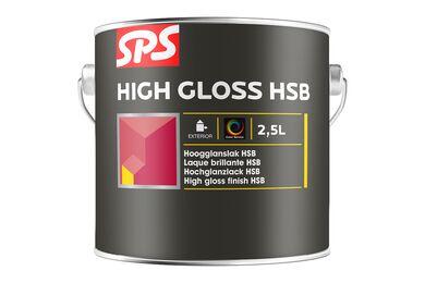 SPS HSB Lakverf Hoogglans 9010 Gebroken wit 2,5ltr