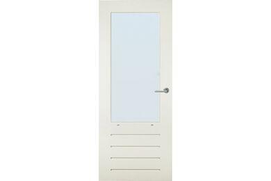 SKANTRAE SKG 587 Balkondeur / Tuindeur Merbau Gegrond Stomp 880x2115mm