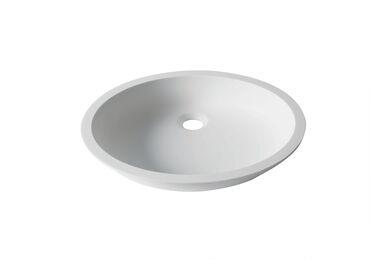 Krion Solid Surface Spoelbak D401 E Snow White  471x390x100mm