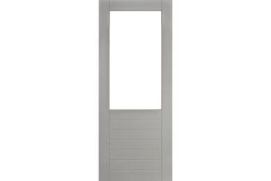 MILLPANEL Massieve deur AluProfiel Grijs Gegrond Stomp FSC 930x2315mm BW92