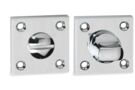 IMPRESSO Rozet WC Vierkant Schoef Modulair Chroom