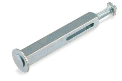 AXA Wisselstift 6051-87-22E Stelschroef Met Aanslag Verzinkt 8x60mm