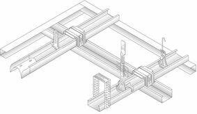 plafond bovenhanger nonius hnb7146 540mm 1st