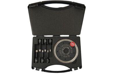 INTERDYNAMICS Black Power Tegelboor 4-delige set Inclusief 125mm tegelblad 6-8-10-12mm