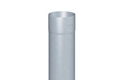RHEINZINK HWA Buis Gelast Walsblank 80x0,65x1000mm