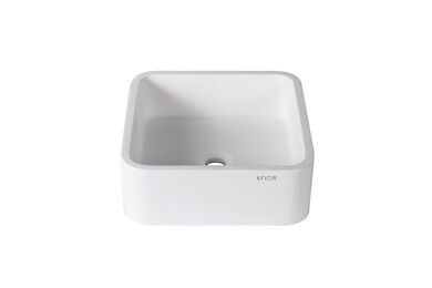 Krion Solid Surface Spoelbak B603 On Top Snow White 360x360x150mm
