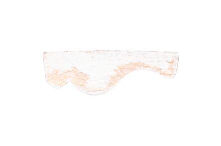 grenen decorlijst wit gegrond fsc mix 70% 9x29x2700
