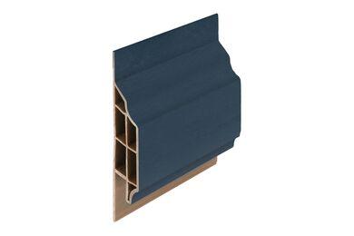 KERALIT 2850 Dakrand Sierlijst Klassiek 10mm Staalblauw Classic Nerf 6000mm