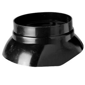 ubbink multivent schaal 131 zwart 131mm