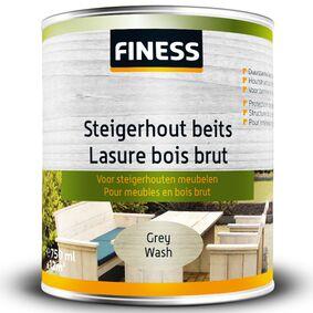 finess steigerhoutbeits binnen/buiten grey-wash 750ml