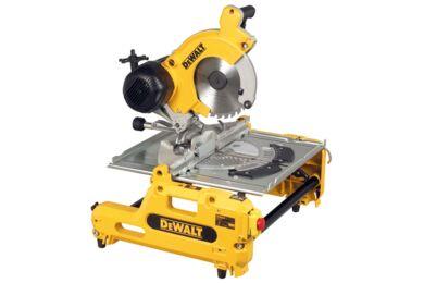 DeWALT DW743N-QS  Tafel-/afkort-en verstekzaag 250mm