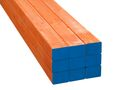 Stockholm Vuren Metselprofiel Oranje 5-laags FSC 66x76x2650mm