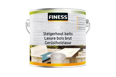FINESS Steigerhoutbeits Dark grey-wash Binnen/Buiten 2,5l