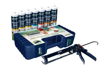 bostik smartbox incl. kitpistool blauw/groen