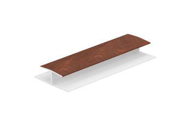 KERALIT 0420 H-Verbindingprofiel 10mm Golden Oak 2600mm