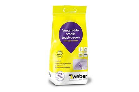 weber.color comfort voegmiddel 5kg grijs