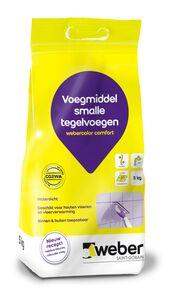 weber.color comfort voegmiddel 5kg wit
