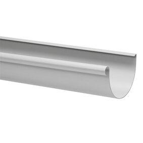 kraalgoot 125x4000mm grijs
