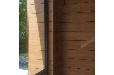 trespa pura nfc gevelstroken pu04 royal mahogany 3050x186x8