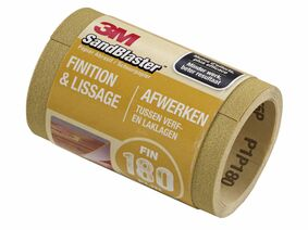 3m schuurrol sandblaster p180 goud 115mm rol 5mtr