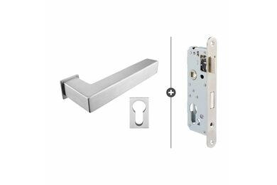 SKANTRAE Hang- en Sluitwerkpakket HSP825 Cilinderslot Akron RVS T.B.V. SSL Series
