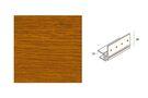 KERALIT Dakrand Montageprofiel 10mm Golden Oak Classic Nerf L= 6000mm