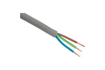 kabel YMVK-AS DCA grijs 2x2,5mm2 25m